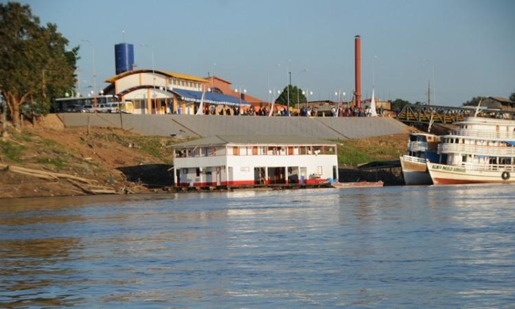 Defesa Civil Municipal notifica Terminal Hidroviário de Porto Velho