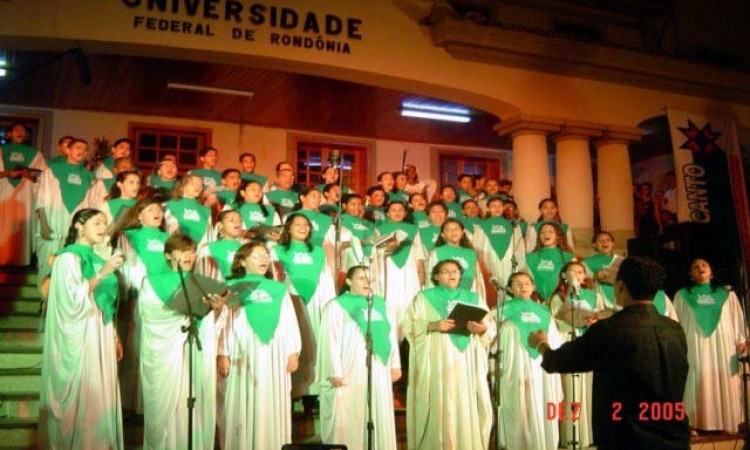 Cantata da Unir:  dias 10 e 11 em Porto Velho