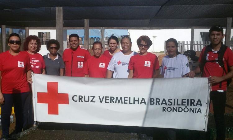Cruz Vermelha Rondônia conclui mais uma  etapa da horta comunitária em Jacy Paraná