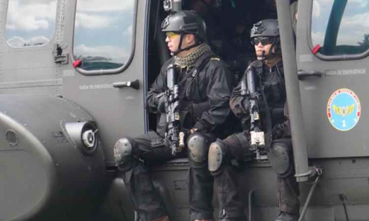 Defesa promove exercício conjunto de enfrentamento ao terrorismo