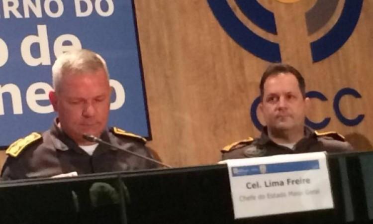 PM anuncia reforço de mais de 3 mil policiais por dia durante os Jogos Olímpicos