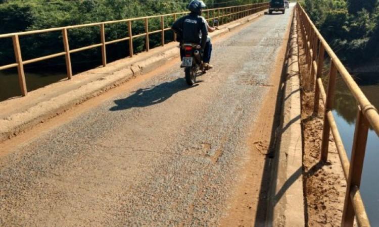 Nova ponte de concreto sobre o rio Jamari terá mão dupla de trânsito e passagem para pedestres nas laterais