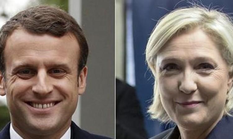 Macron e Le Pen disputarão segundo turno na França no dia 7 de maio