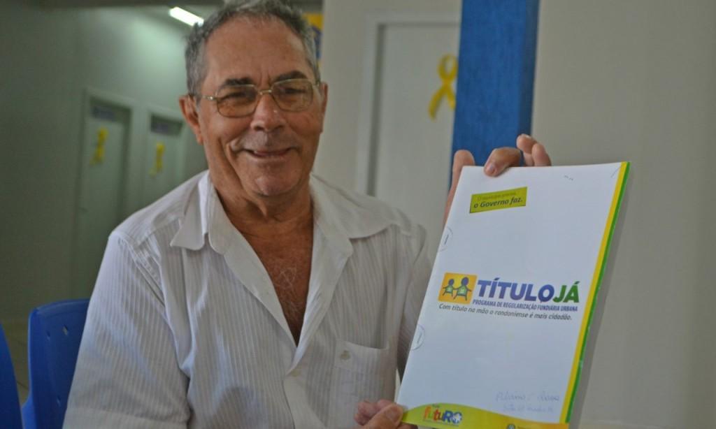 Título Já garante posse de terrenos a mais 120 moradores de Pimenta Bueno