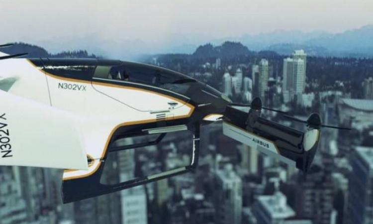 Em vídeo, Airbus mostra funcionamento de seu táxi voador autônomo