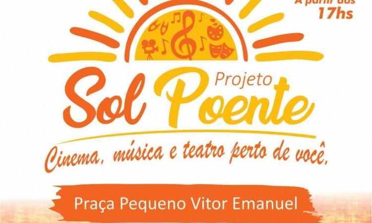 CULTURA E LAZER – Prefeitura estreia projeto Sol Poente neste domingo
