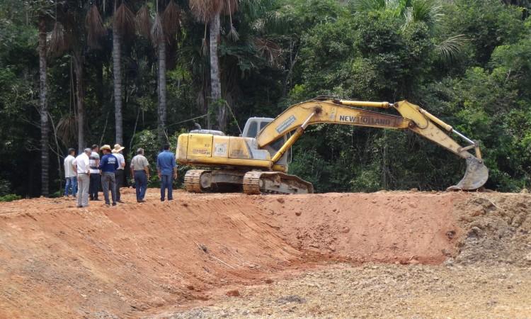 Prefeitura já construiu sessenta tanques para criação de peixes