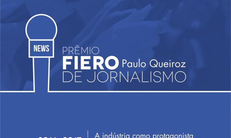 Hoje é o dia do 1º Prêmio Fiero de Jornalismo