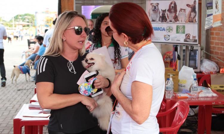 Campanha conscientiza sobre adoção e cuidados com animais